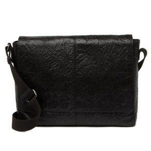 Frye Men's Black Leather Messenger Bag NWT $498